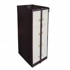 4 Drawers Filing Cabinet with Locking Bar