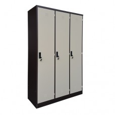 3 Doors Steel Locker