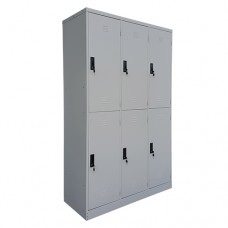 6 Doors Steel Locker