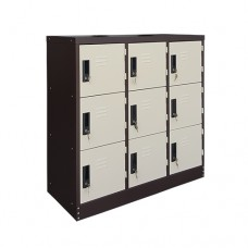 9 Pigeon Holes Shoe Locker
