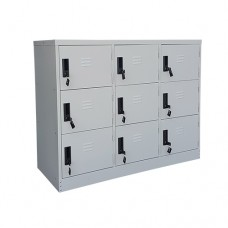 Half Height 9 Doors Steel Locker