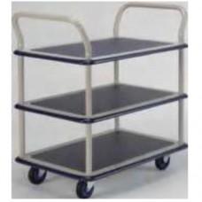 Mystar Steel Platform Triple Decker Hand Trolley