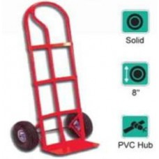 "P SHAPE HAND TRUCK WITH 8"" SOLID WHEEL"