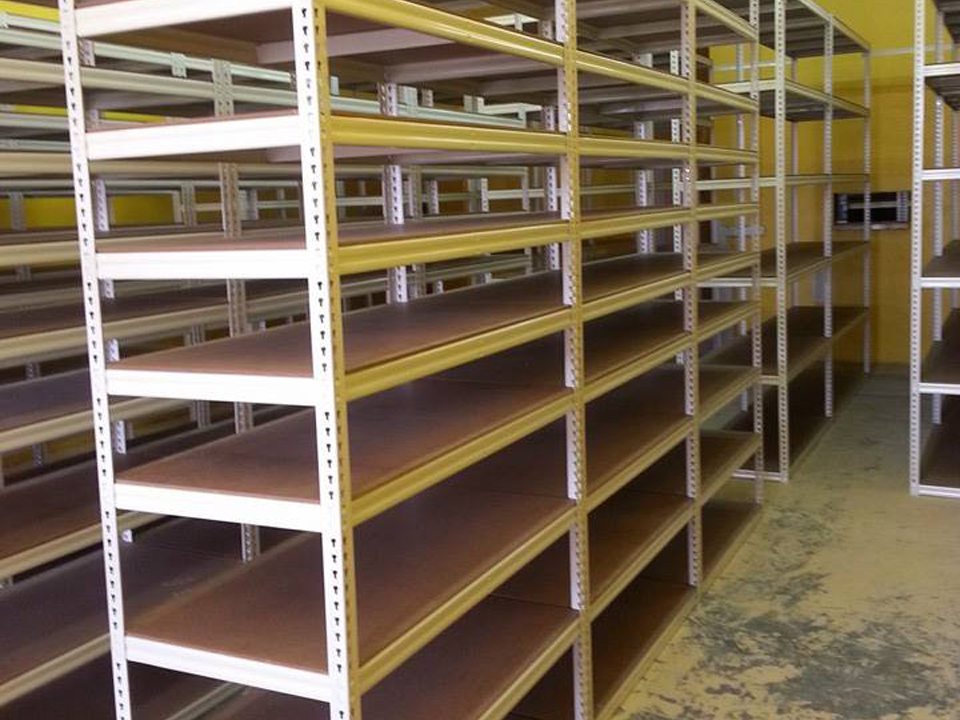 Boltless Shelving System