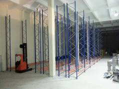 Double Deep Storage Racking System